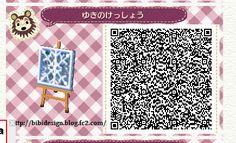 Snowflake Grate - Animal Crossing New Leaf QR Coe