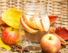 Heilwasser mit Zimt und Apfel