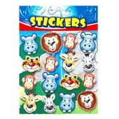 Jungle Animal Party Bag Stickers