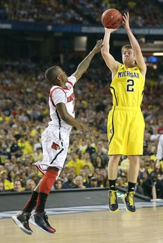 Michigan Wolverines Basketball...SPIKE!