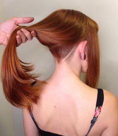 Undercut Natural Hair, Undercut Ponytail, Undercut Hairstyles Women, Undercut Pixie, Shaved Hairstyles, Pixie Haircuts, Pixie Hairstyles, Shaved Hair Women, Half Shaved Hair
