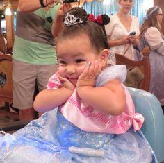Disney princess makeover Bippity Boppity Boutique