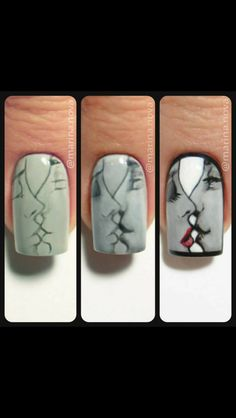 Opting for bright colours or intricate nail art isn't a must anymore. This year, nude nail designs are becoming a trend. Here are some nude nail designs. Cute Nail Art, 3d Nail Art, Nail Art Hacks, Beautiful Nail Art, Easy Nail Art, Cute Nails, Fingernails Painted, Nailart, Valentine Nail Art