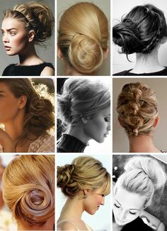 Buns and updos