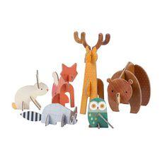 Woodland Pop Out Figurines  #GabbyKnows #GetYourWorthOn #Gabbys30under30