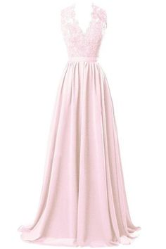 R&J Women's V-neck Open Back Lace Chiffon Floor Length Formal Evening Party Dress Steel Grey Size 2