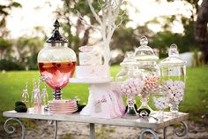 "Little Girl Tea Party Ideas | Dreamy ""Little Ladies"" Tea Party // Hostess with the Mostess®"