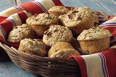 Panecillos de compota de manzana y salvado Receta - Comida Kraft