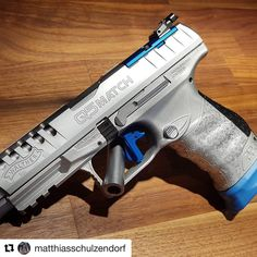 "2,885 Likes, 43 Comments - Walther Arms (@waltherarms) on Instagram: ""#WaltherQ5Match @matthiasschulzendorf ・・・ Q5 MATCH Champion hardchrome #q5match @waltherarms…"""
