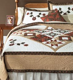Josephine Embroidered Sampler Quilted Pillow