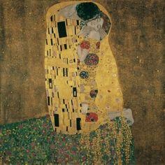 "Gustav Klimt ""Der Kuss"" (The Kiss)"