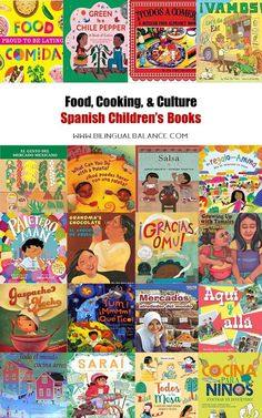 Food, Cooking, & Culture: Spanish Children's Books - Bilingual Balance