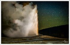 Old Faithful, Night Shot, Places Ive Been, Northern Lights, Shots, About Me Blog, Facebook, World, Happy