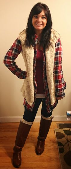 Faux Fur Vest- House of Payne Style