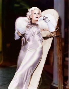 Jean Harlow by klimbims, via Flickr