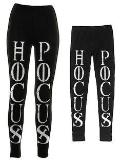 Hocus Pocus - Leggings   Black Craft ($40.00) - Svpply NEED!!!!!