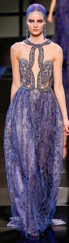 Armani privé haute couture s/s 14