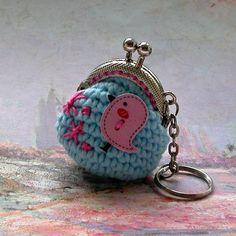 Ptáčková - peněženka na klíče