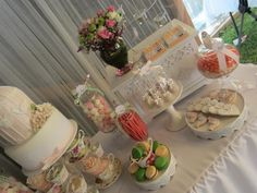 Little Big Company | The Blog: {PARTY FEATURE} A Sweet Bird High Tea Bridal Shower from Cakes by Joanne Charmand
