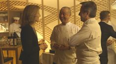 Nobu's Japan, Chef Nobu Matsuhisa and the guest chef  Daniel Boulud hosted  the documentary series's fourth charity dinner event at #Nobu Tokyo