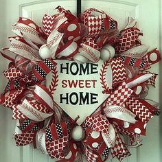 Farmhouse Wreath Magnolia Wreath Everyday Wreath All Year Summer Door Wreaths, Fall Wreaths, Wreaths For Front Door, Christmas Wreaths, Halloween Burlap Wreaths, Christmas Door, Christmas 2019, Baseball Wreaths, Sports Wreaths