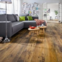 Laminat Dekor Landhausdiele Gran Via Eiche Altholz - Foto: HARO-Hamberger Flooring GmbH & Co. KG