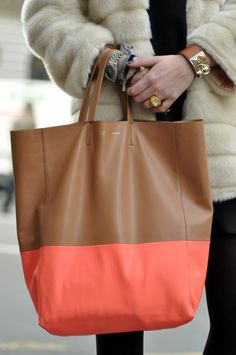 d1fff10c7a33 Neons and neutrals are in this year. Celine bag Celine Tote Bag, Me Bag