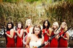 THIS WILL BE ONE OF MY WEDDING PICTURES. #guns