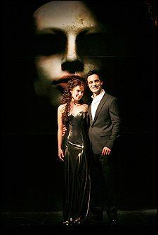 Sierra Boggess and Ramin Karimloo