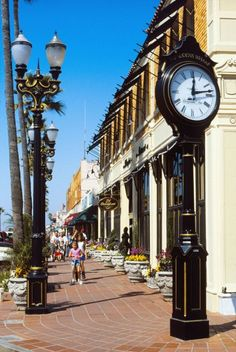 Newport Beach, California - favorite spot for our teens to purchase those California clothes to start the new school year with.
