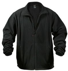 Polar fleece jacket mountain patrol black $46.08 280g/mm double sided polar fleece. 100% polyester.  Military Clothing. http://www.armynavyshop.com/prods/rc8745.html