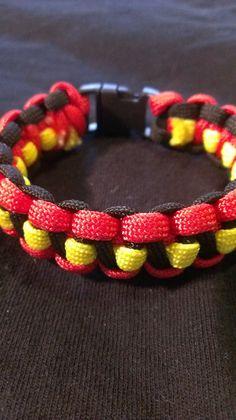 Red Queen - Disney Inspired Paracord Bracelet