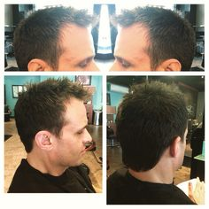 Men's haircut by Joseph Bryce at Studio 150 Kirkland   Texture is King.