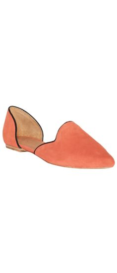 Florence Flats Coral/Black