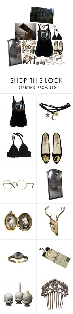 """""""our paperback books, our charming looks"""" by ghostclub ❤ liked on Polyvore featuring Isabel Marant, Wet Seal and Oliver Peoples"""