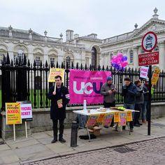 UCU strike for pensions
