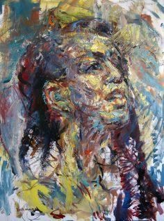 2016 | Freedom by Judy Volkmann #figurative #expressionist #art #portrait #woman #freedom #contemporaryart #painting #artforsale #judyvolkmann Oil Paintings, Figurative, Contemporary Art, Freedom, Woman, Portrait, Liberty, Political Freedom, Men Portrait