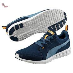 puma carson runner chaussures de running competition mixte adulte bleu blau blue
