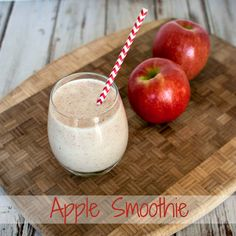 Apple Smoothie from upstateramblings.com