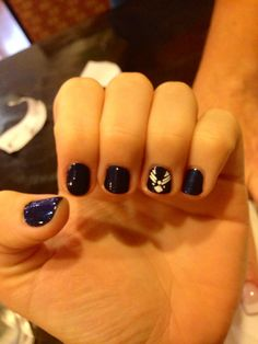 Air Force nails, manicure