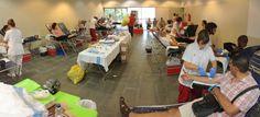 Biblioteca Comarcal de Blanes - Blanes - Notícies - 363 persones participen a la 4a Marató de Donació de Sang #MSangBlanes