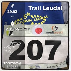 Trailrun Leudal in Heythuysen. 30 km in 2:48:59.