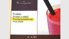 Gefunden am Gardasee in Italien Menu Cards, Lake Garda, Italy, Deutsch, Funny