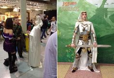 Magic the Gathering Cosplay at Pro Tour Theros