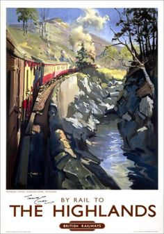 Highlands by Rail  ~Repinned Via Isabel Jarvis
