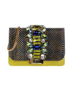 GEDEBE Across-Body Bag. #gedebe #bags #shoulder bags #hand bags #metallic #leather #crystal #