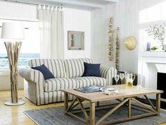 Textiles et tapis housse de coussin esprit bord de me - Salon de jardin maison du monde ...