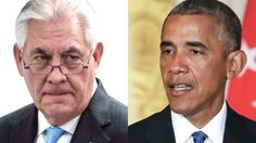 """Rex Tillerson Fires Obama's """"Shadow Government"""" Crew…"""