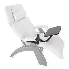 Brookstone Perfect Chair® zero-gravity laptop desk chair $399