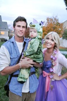 Rapunzel, Flynn Rider, and Pascal. THIS IS THE BEST THING EVER!